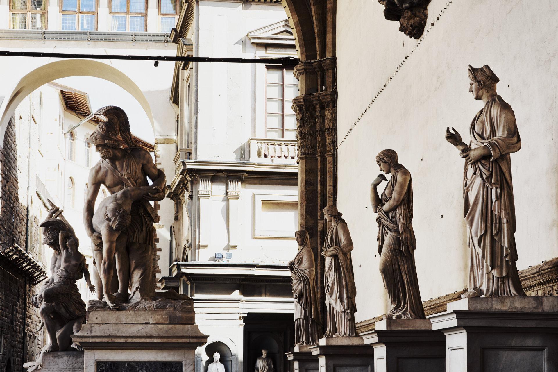 Florencia - Piazza della Signoria - José Álvarez Fotografía