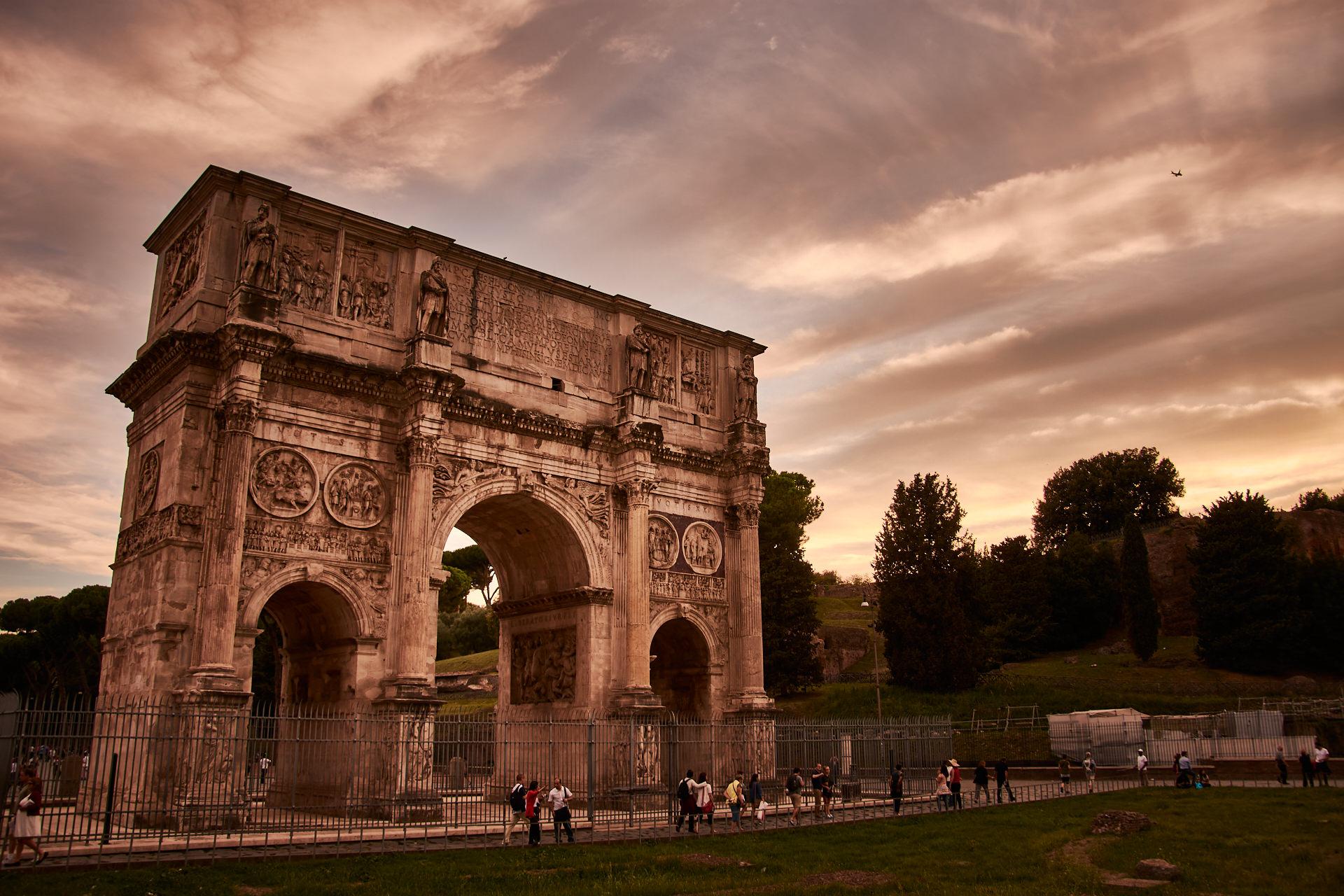Arco de Constantino - Roma - José Álvarez Fotografía
