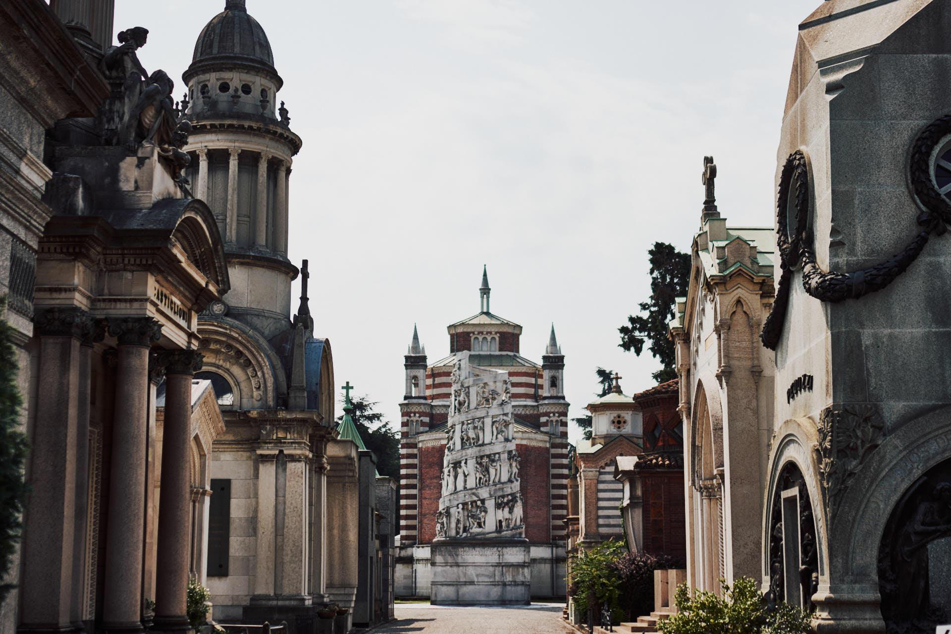 Cimiterio Monumentale - Milán - José Álvarez Fotografía