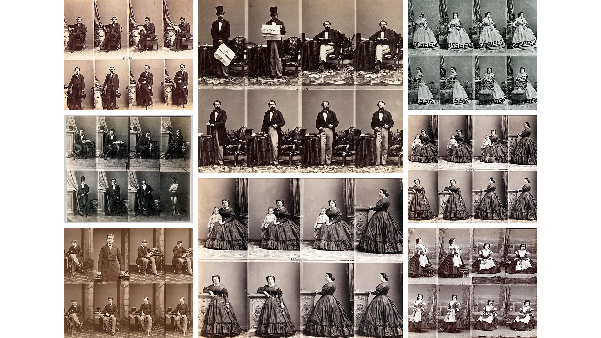 La Carte de Visite - Historia de la Fotografía - José Álvarez Fotografía