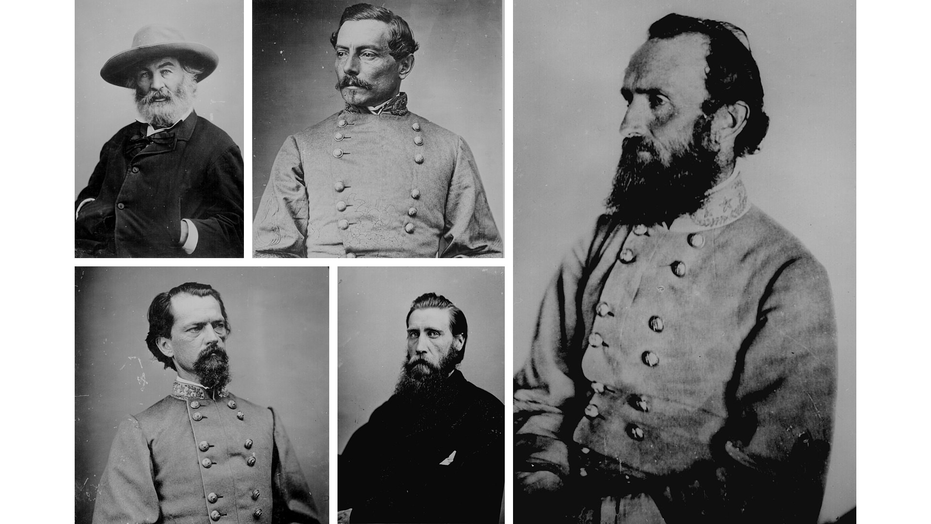 Guerra de Secesión - Retratos - Historia de la Fotografía - José Álvarez Fotografía