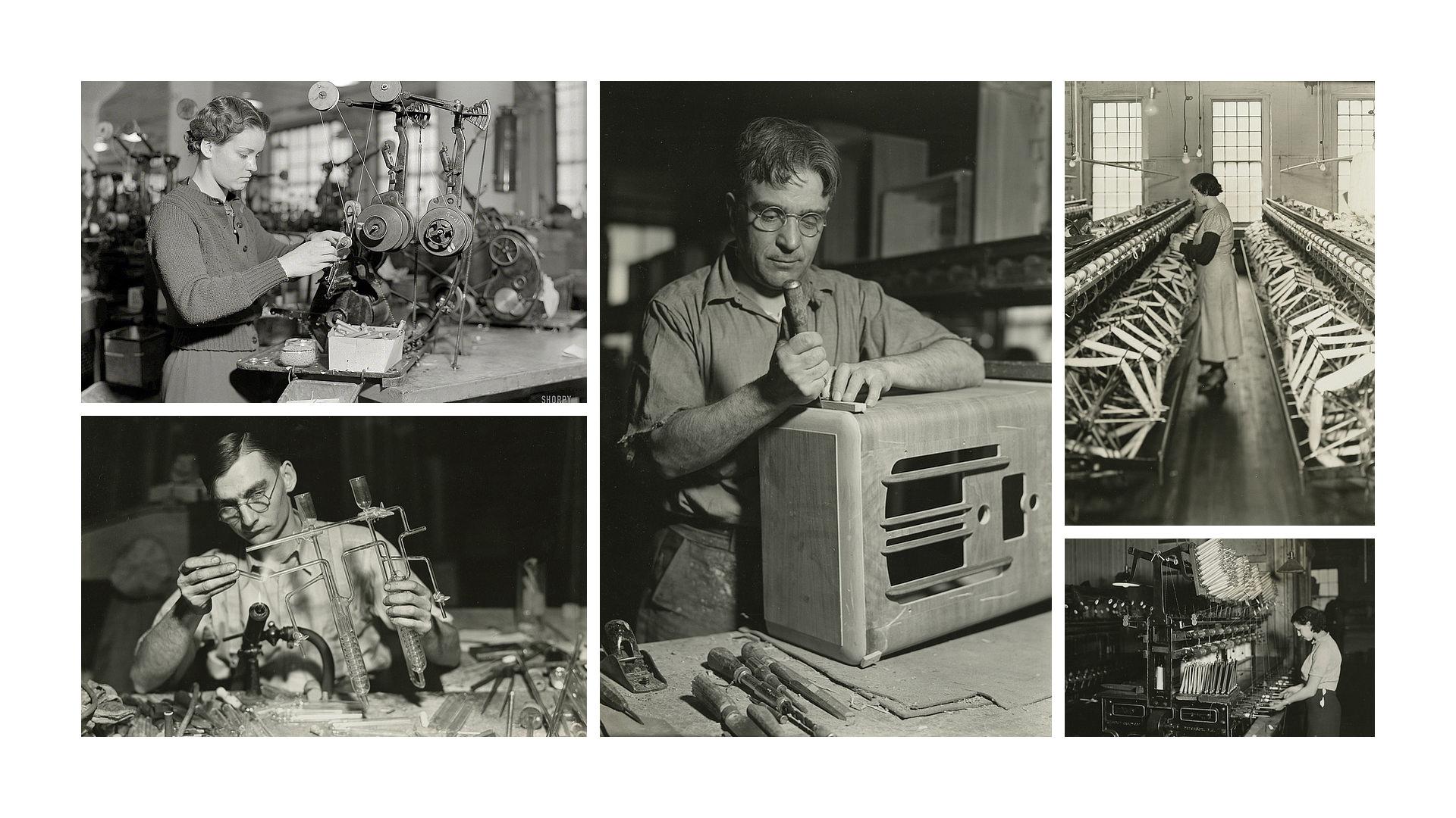 Lewis W Hines - American at work - Historia de la Fotografía - José Álvarez Fotografía