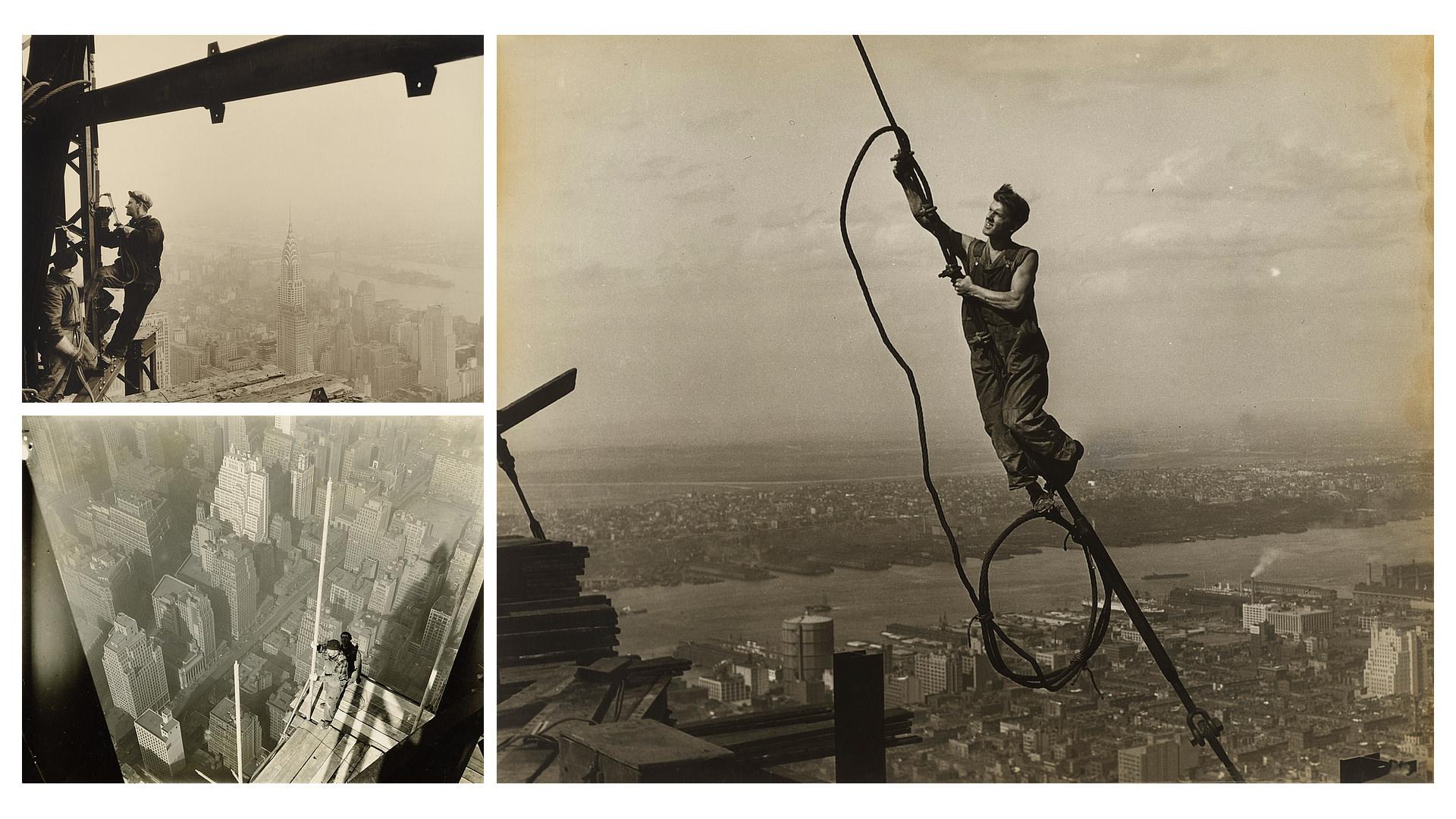 Lewis W Hines - Empire State Building - Historia de la Fotografía - José Álvarez Fotografía
