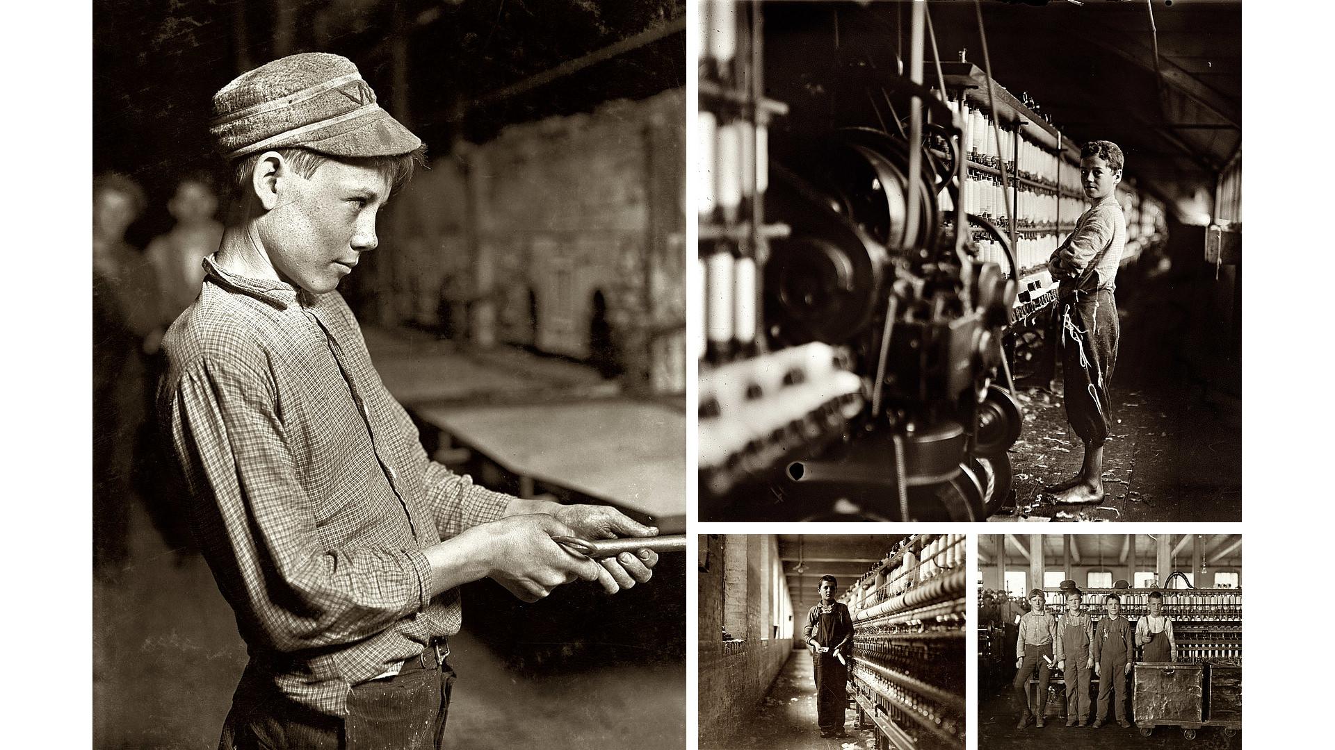 Lewis W Hines - Trabajo Infantil - Historia de la Fotografía - José Álvarez Fotografía