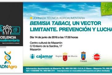 Día 14 de junio. Jornada 'Bemisia tabaci, un vector limitante. Prevención y lucha'. Mazarrón