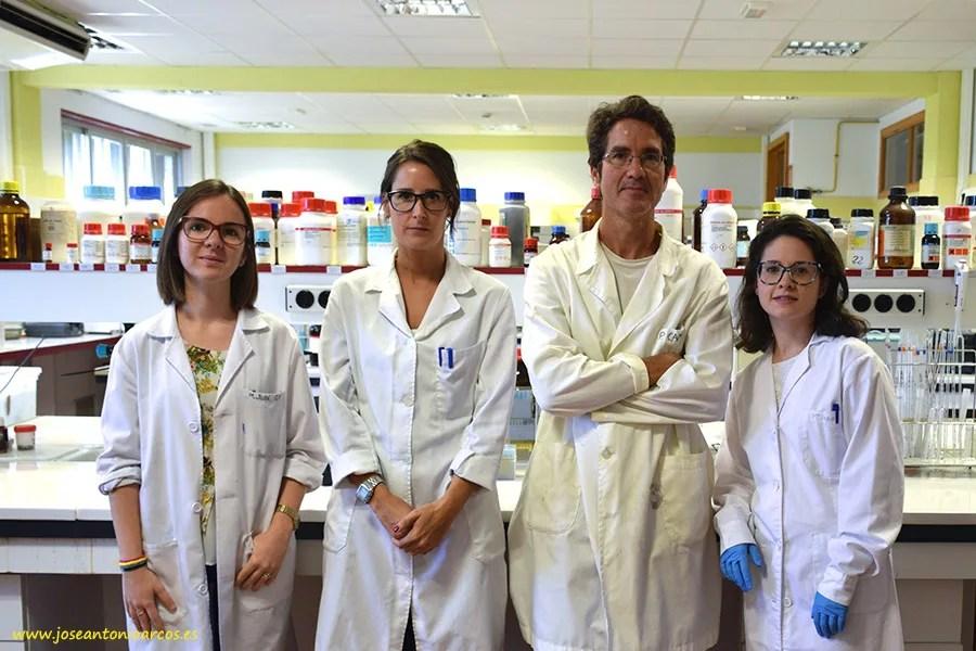 Equipo investigador del Área de Tecnología de Alimentos de la Universidad de Almería, UAL.