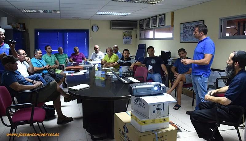 Charla en Campoejido a un grupo de 'Agricultura Viva en Acción'.