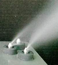 Nebulización en centrales de cítricos, frutas y hortalizas.
