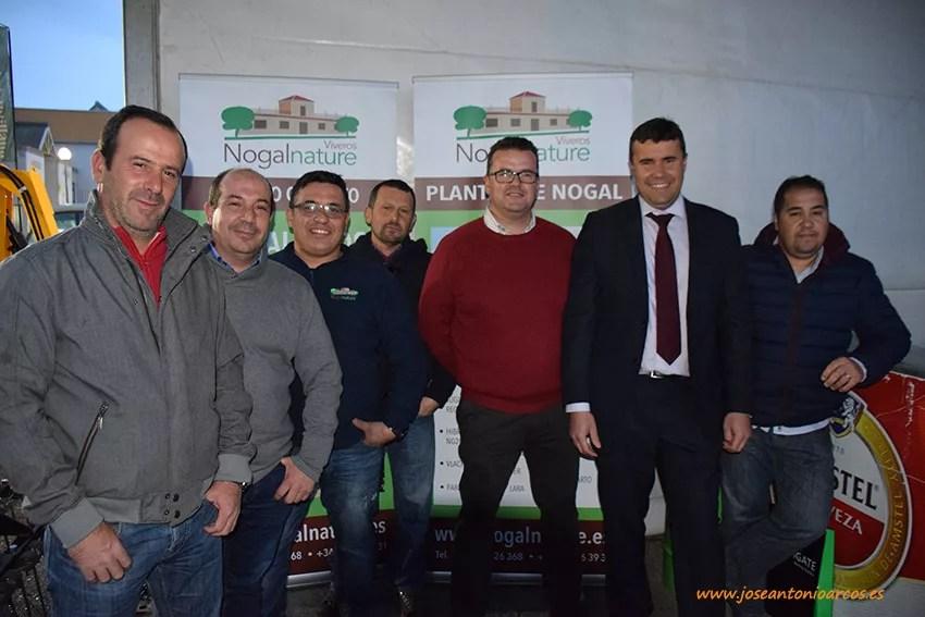 Viveros Nogalnature en la feria extremeña de Don Benito, Badajoz. Agroexpo 2017
