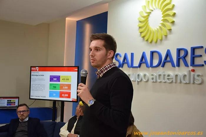 Francisco Maldonado Galán, comercial Alhóndiga La Unión.