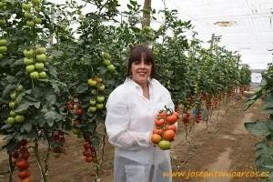 Amelia Martínez, técnico comercial de Seminis