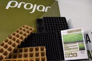 Bandejas biodegradables de Projar.