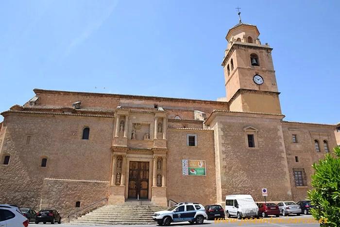 Iglesia Parroquial de Santa María de la Asunción en Hellín.