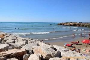 Playas de Vinaroz.