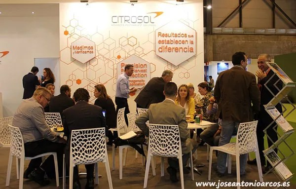 Expositor de Citrosol en Fruit Attraction 2017.