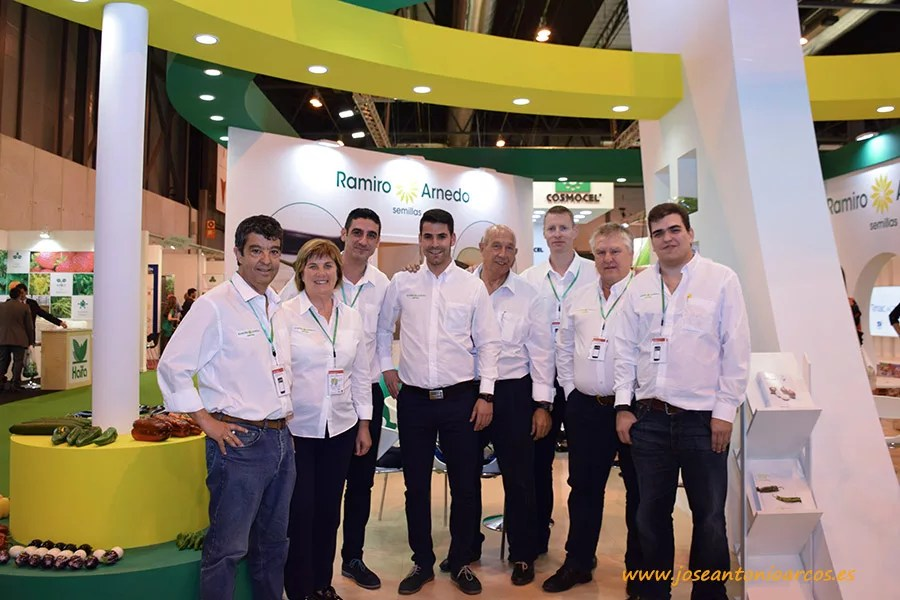 Foto de familia de Ramiro Arnedo en Fruit Attraction 2017.