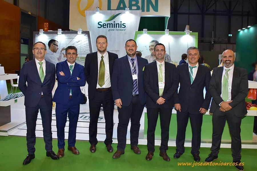 Foto familia Seminis en Fruit Attraction 2017.