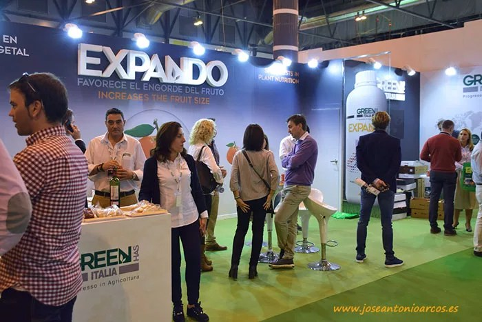 Expositor de Green Has Italia en Fruit Attraction 2017.