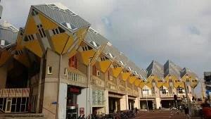 Casas cubo de Rotterdam.