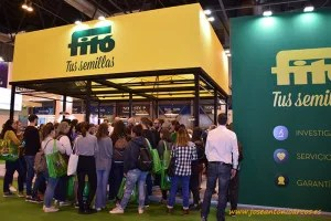 Expositor de Semillas Fitó en Fruit Attraction 2017.