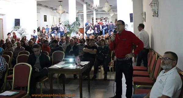 Miguel Ángel Zorrilla durante su presentación.