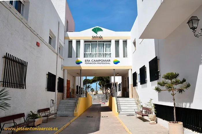 Escuela Familiar Agraria EFA Campomar, Aguadulce, Almería.