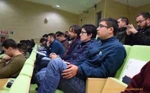 Alumnos de la EFA Campomar en la jornada sobre biodinámica celebrada en el PITA.