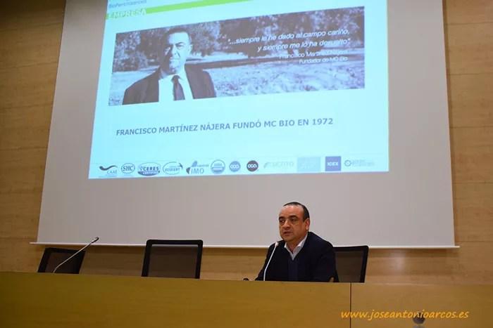 Diego F. Martínez, director de MC BIO (Biofertilizantes).