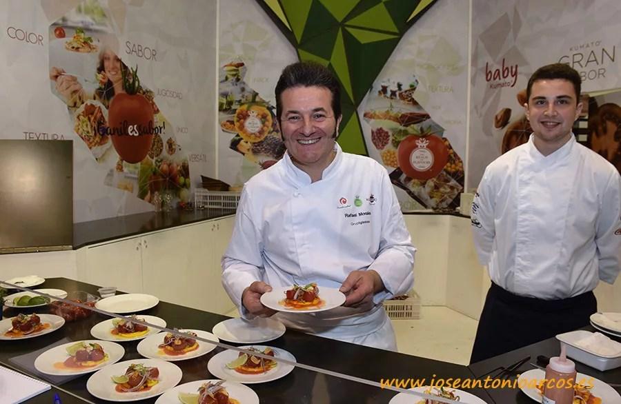 El chef Rafa Morales.