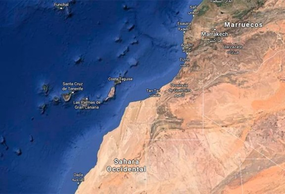 El Sahara refleja en un espejo el peso diminuto del campo español
