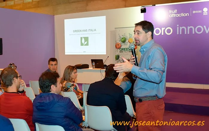 Daniele di Raimondo, gerente de Green Has Iberia.