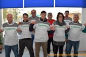 """14 comercializadoras cargan el camión """"Für gerechte preise"""" rumbo a Alemania"""