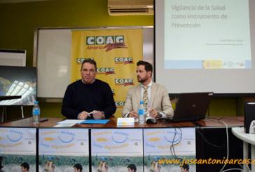 """Agricultores almerienses debaten sobre """"la vigilancia de la salud"""" en el trabajo"""