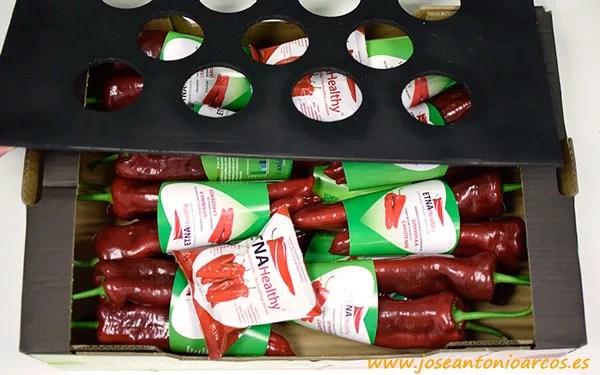 Envases biodegradables para pimientos biofortificados - joseantonioarcos.es