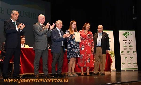 Beca de excelencia. Fundación Unicaja beca a los mejores expedientes de EFA Campomar. /joseantonioarcos.es