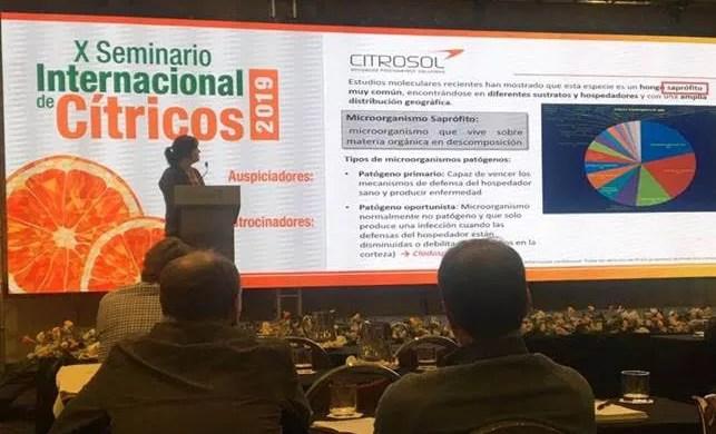 Programa de monitorización de resistencias Citrosol