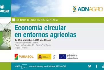 Día 12 de septiembre. Economía circular en entornos agrícolas