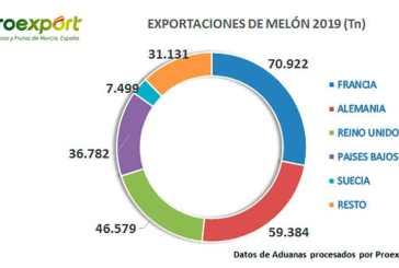 La campaña de melón y sandía echa a andar en Murcia