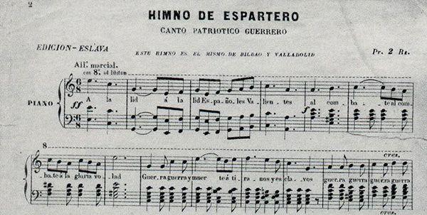 El himno de Espartero y el palotao de Ainzón