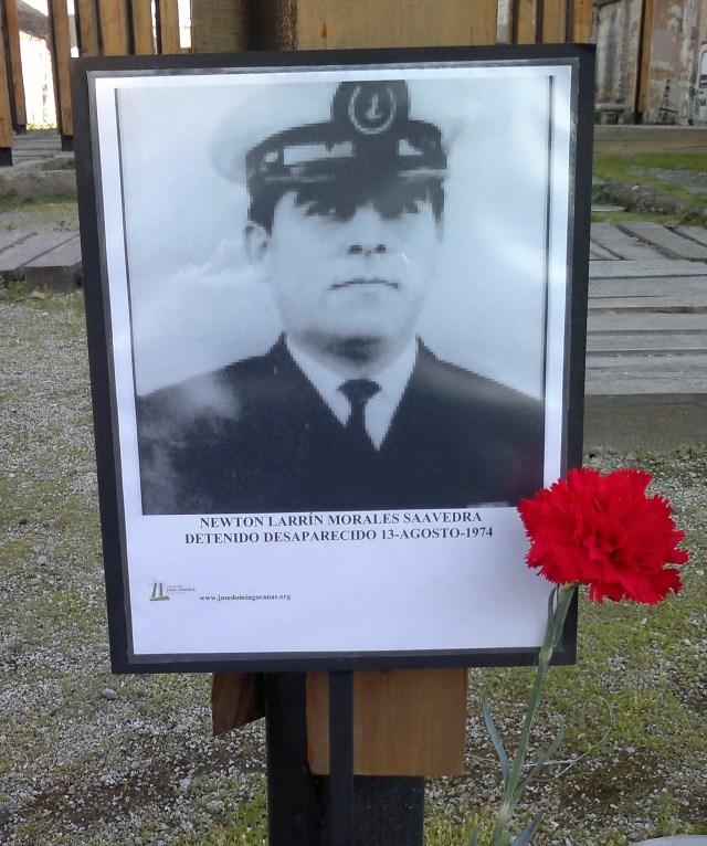 Newton Larrín Morales Saavedra Detenido Desaparecido 13agosto de 1974