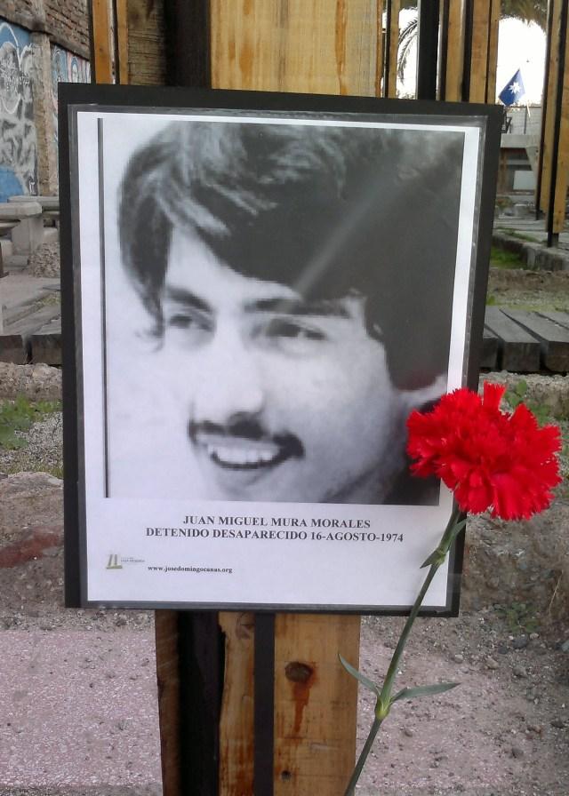 Juan Miguel Mura Morales Detenido Desaparecido 16-agosto-1974