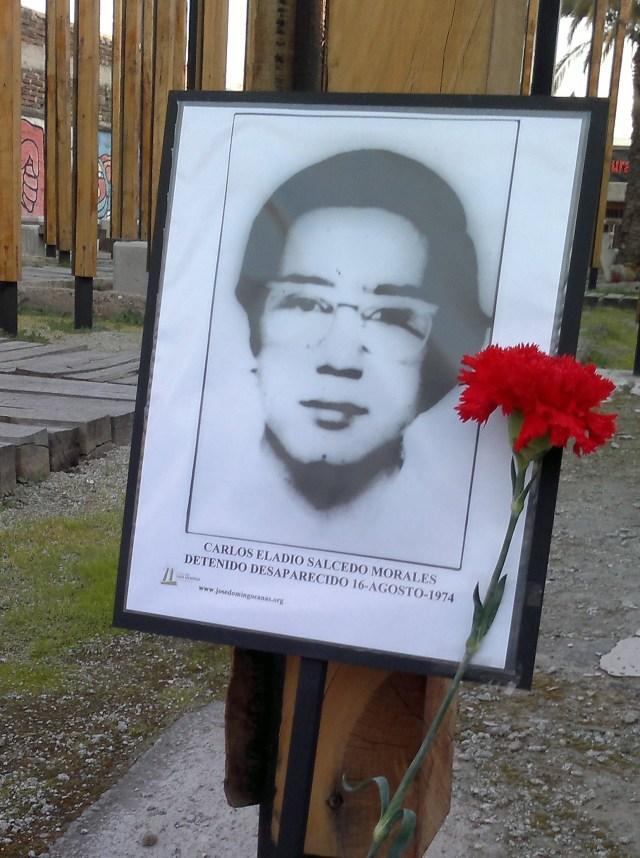 Carlos Eladio Salcedo Morales Detenido  Desaparecido 16-Agosto-1974