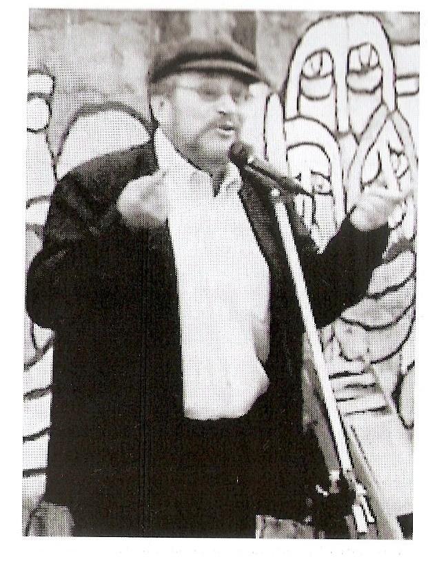 Edmundo Lebrecht Díaz-Pinto dando testimonio en José Domingo Cañas...