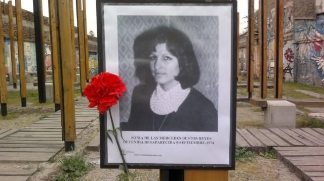 Sonia De Las Mercedes Bustos Reyes Detenida Desaparecida el 5 de septiembre de 1974