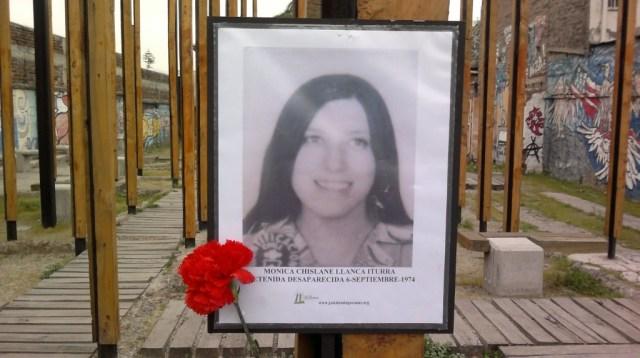 Mónica Chislane LLanca Iturra Detenida Desaparecida el 6 de septiembre de 1974