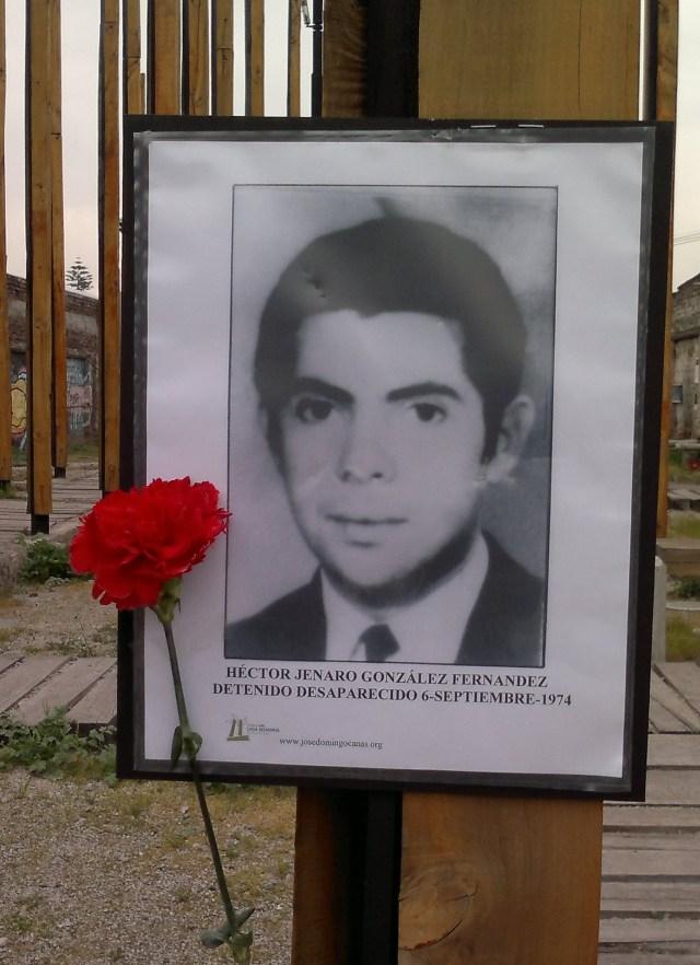 Héctor Jenaro González Toro Detenido Desaparecido el 6 de septiembre de 1974