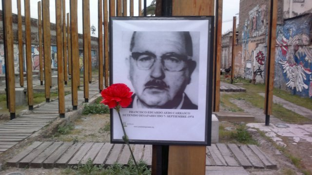 Francisco Eduardo Aedo Carrasco Detenido desaparecido el 7 de septiembre de 1974