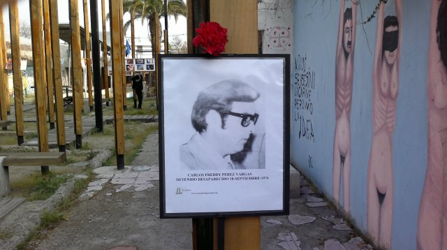 Carlos Freddy Perez Vargas Detenido Desaparecido el 10 de septiembre de 1974.