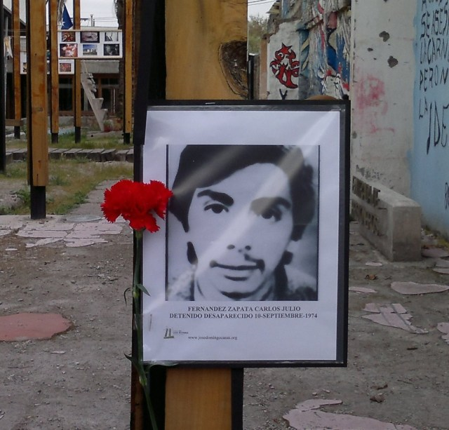 Carlos Julio Fernandez Zapata Detenido Desaparecido el 10 de septiembre de 1974