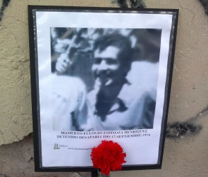 Mamerto Eulogio Espinoza Henriquez. Detenido Desaparecido el 17 de septiembre de 1974.
